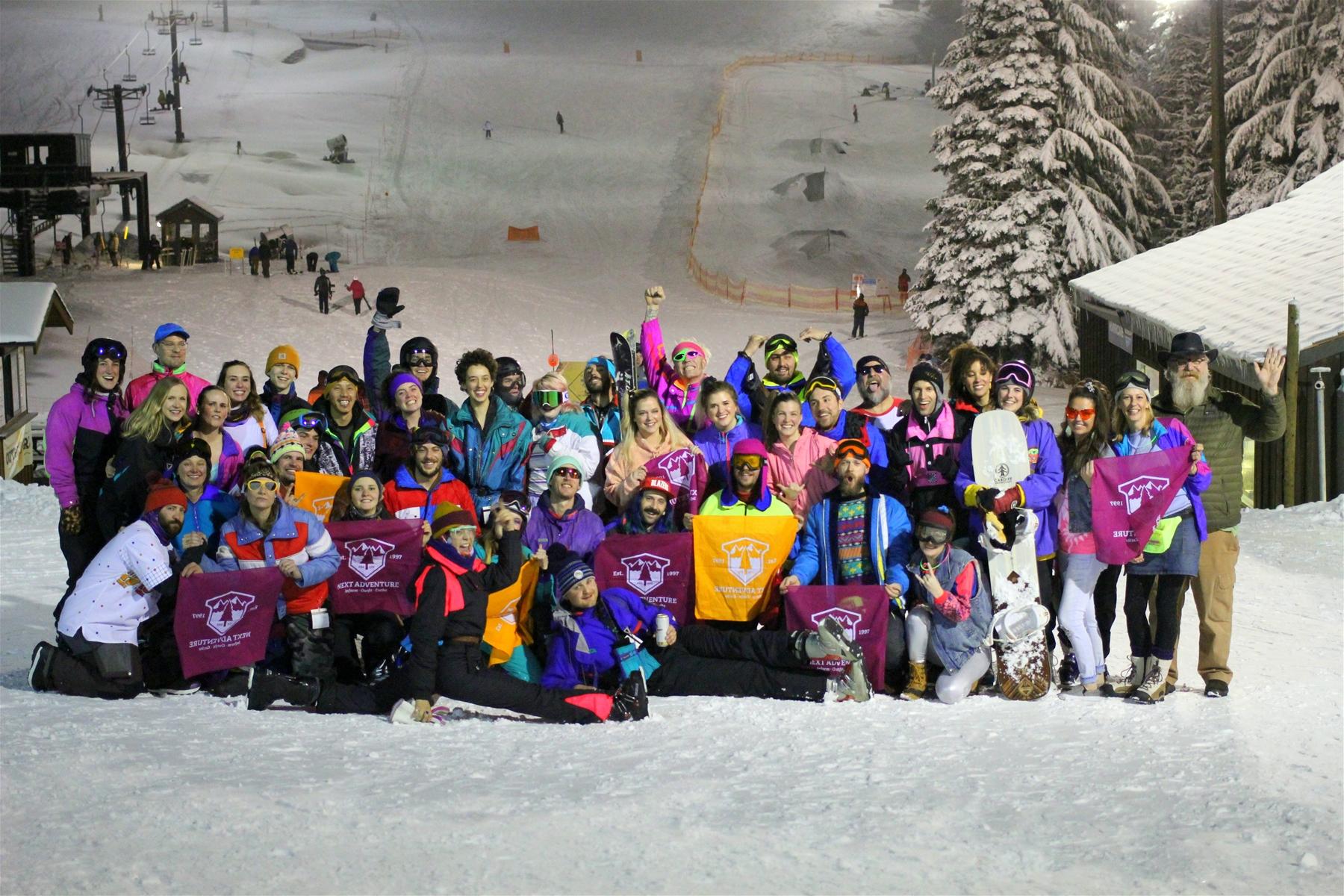 80's Night 2020 at Mt. Hood Skibowl