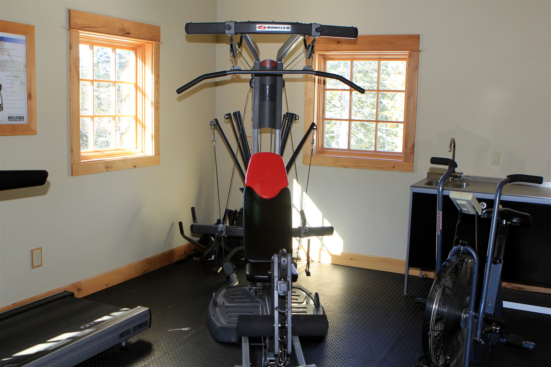 Fitness Room at The Grand Lodges at Collins Lake Resort