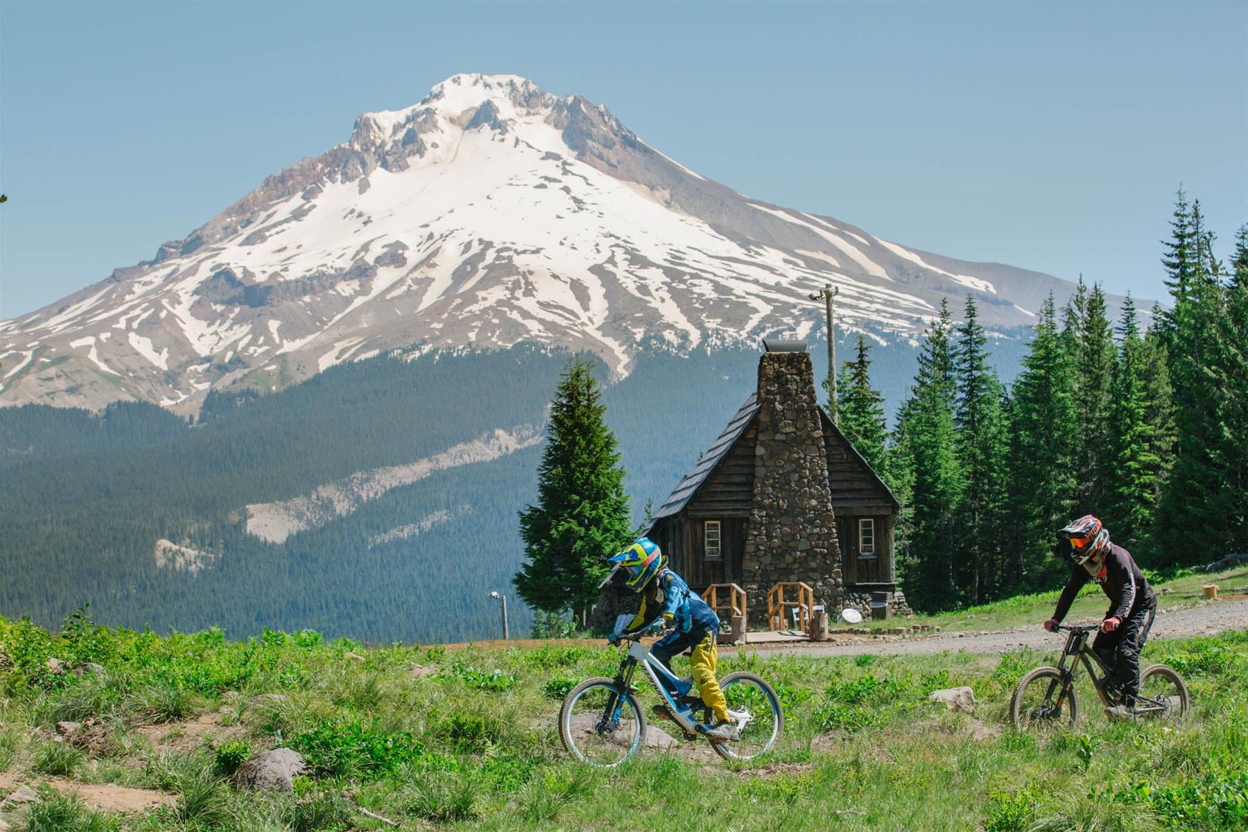 Mountain Biking at Mt. Hood Skibowl